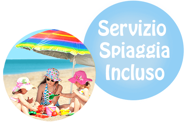 All Inclusive Spiaggia Inclusa